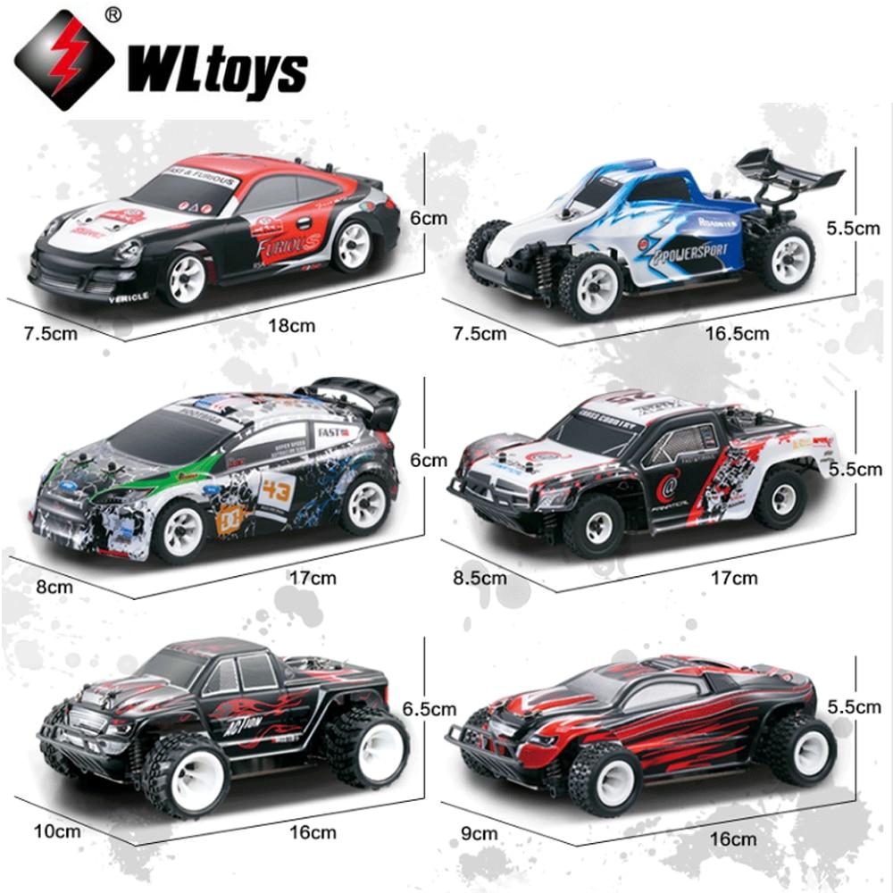 Wltoys 1:28 4WD 30 KM/H hobby RC Drift Car Elettrica Off road Rally Cars camion K969 K979 K989 K999 P929 P939-in Auto radiocomandate da Giocattoli e hobby su  Gruppo 1