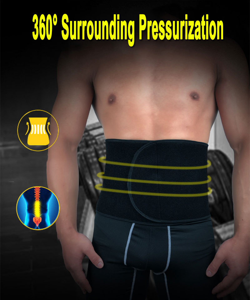 Training Back Waist Support Belt (2)