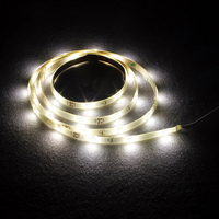 Motion Activated Bed Light 1 2M Flexible LED Strip Motion Sensor Night Light Illumination With Automatic