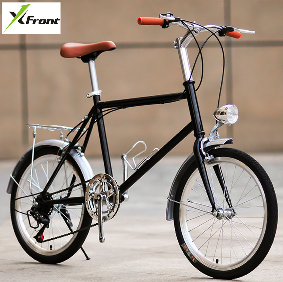 New Brand Street Retro Bike Carbon Steel Frame 20 inch Commuter Bicycle Outdoor Sport Student Lady's Bicicleta image