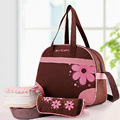 High Quality messenger diaper bag mummy nappy bag multifunctional large shoulder waterproof mother stroller lady handbag