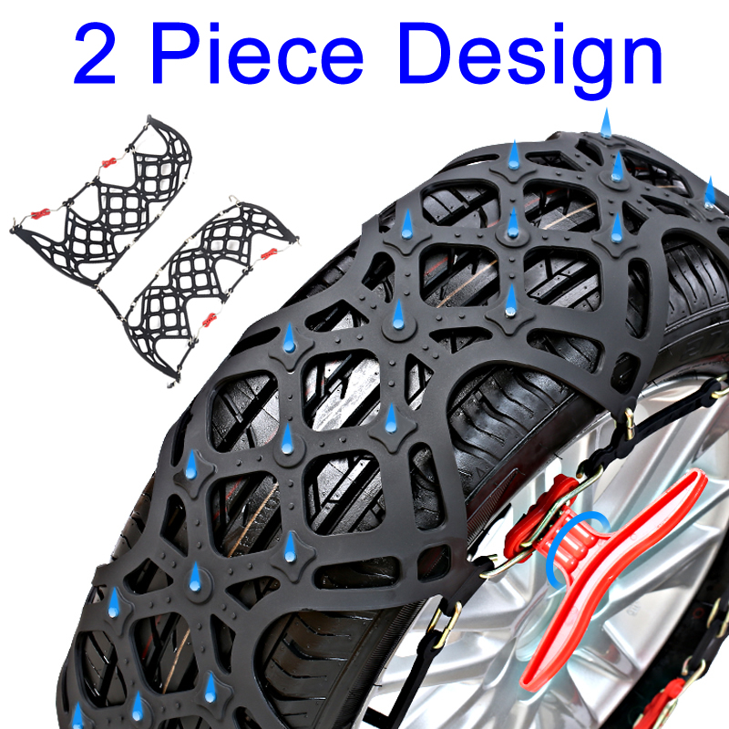 Thickening Skid Chain Winter Tires Chain Wheels Snow Anti-skid Chains High Purity TPU Universal Snow Chains for Cars free car one thousand anti skid chains tires skid chain bold bread titanium mud