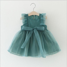 Baby Dress Summer for 0-3y Birthday Girl