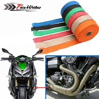 FREE SHIPPING CAR MOTORCYCLE Incombustible Turbo MANIFOLD HEAT EXHAUST WRAP TAPE THERMAL STAINLESS TIES 1.5mm*25mm*5m tie tape tape teatape weave -