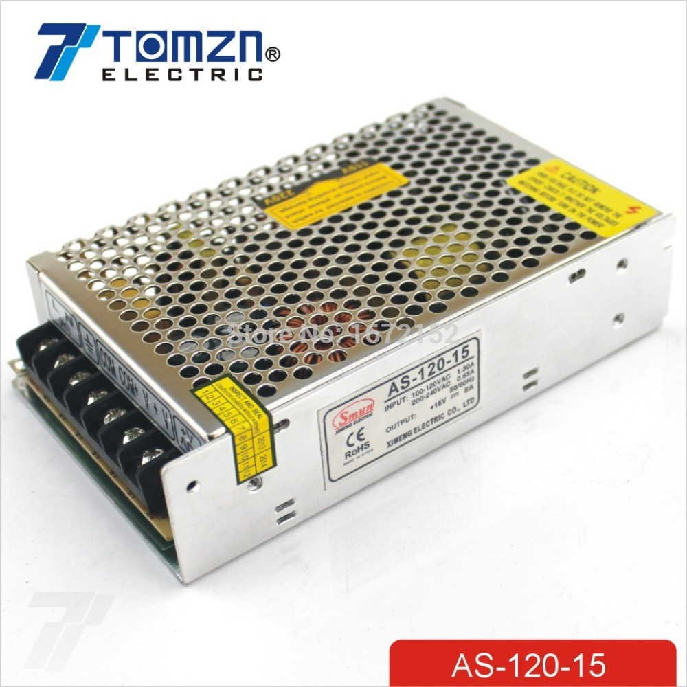 120W 15V 8A Small Volume Single Output Switching power supply for LED Strip light smps hplc method development for pharmaceuticals volume 8