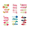 F86 Free shipping sales children headdress hairpin girls lovely cartoon animals PP  clip 2PCS/set