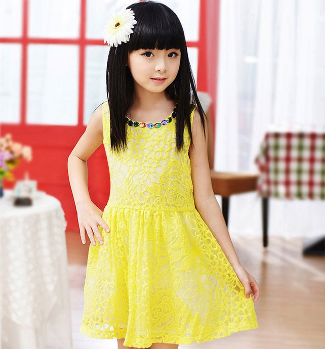 new fashion girls 2014 childrens clothing princess girls