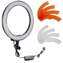 Neewer Camera Photo/Video 14″/36cm Outer 36W 180PCS LED SMD Ring Light 5500K Dimmable Ring Video Light+Plastic Color Filter