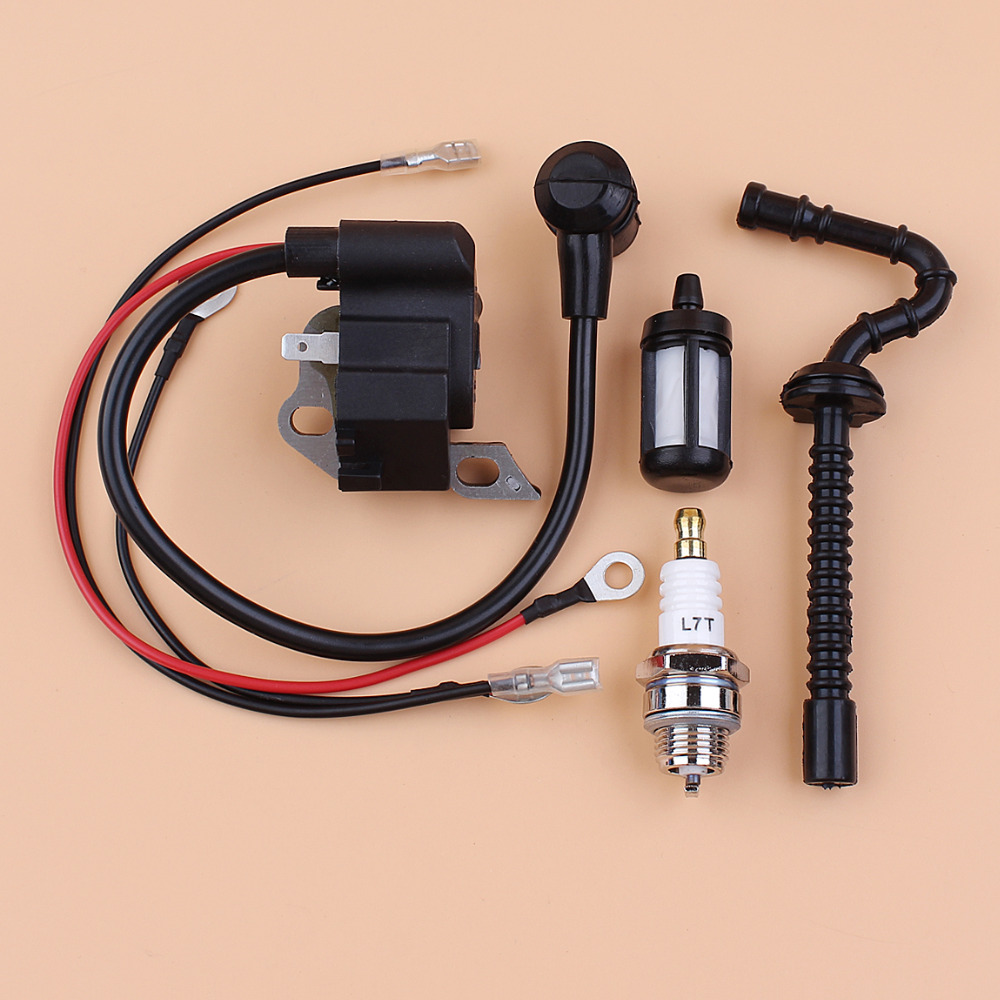 Ignition Coil Module Fuel Hose Line Spark Plug Kit For STIHL MS210 MS230 MS250 020 021 023 025 Chainsaw Spare Parts
