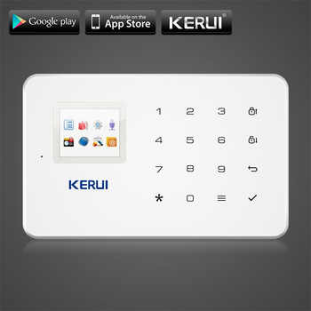 KERUI G18 GSM Home Security Alarm System Built-in Antenna Alarm Anroid IOS App Remote Control Low-voltage Remind Alarm - DISCOUNT ITEM  10% OFF All Category