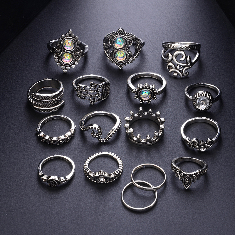 Beedazzling Stacking Rings 6