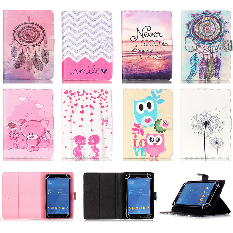 Universal 8 inch Tablet Case Wallet Magnetic Buckle Flip Stand Protective Cover For Android Samsung Asus iPad 8'' Tablet Coque steelie magnetic tablet socket