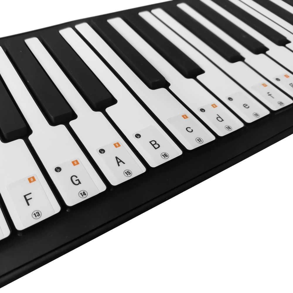 Пылезащитная крышка прозрачная, в форме рояля клавиатура в виде скрипичного ключа наклейки съемные фильтры нейтральной плотности для 37/ 49/61/88 Клавиша клавиатуры для начинающих Практика для фортепиано