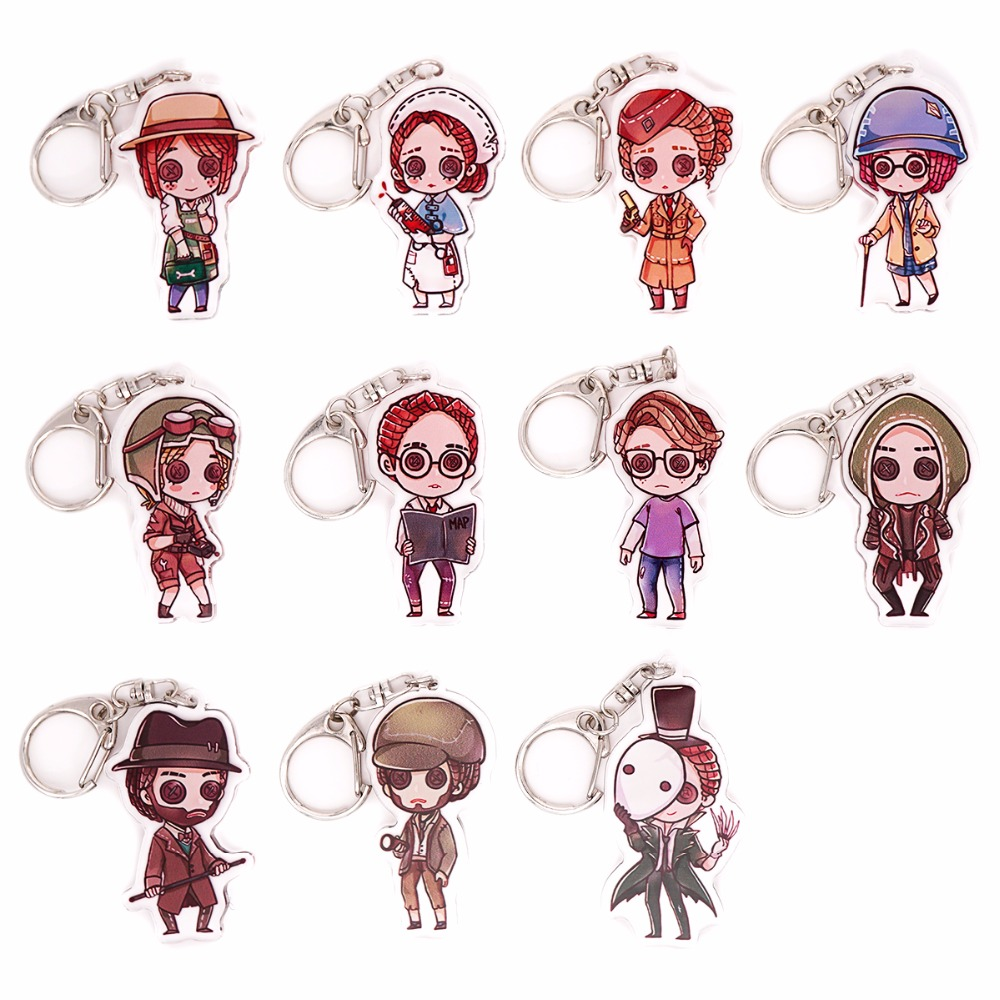 Costumes & Accessories Humor Game Identity V Survivor Mercenary Gardener Lawyer Lucky Guy Coordinator Doctor Anime Cosplay Props Button Glasses Boy Girl Gift