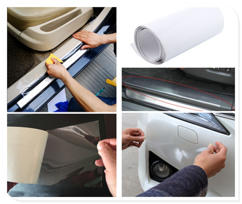 car Accessories Sticker Bumper Paint Protective Film Model 2/ 3/ 8M for BMW i8 Z4 X5 X4 X2 X3 M5 M2 X6 M6 640i 640d image
