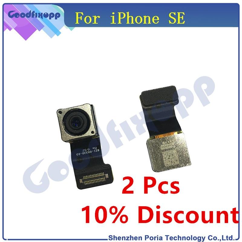 Original For iPhone SE Rear Camera Back Camera Flex Cable Big Camera Cable Repair Replacement Parts For Apple iPhone SE Camera