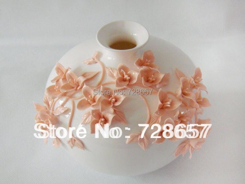 Classique traditionnel chinois en céramique et porcelaine Vase décoratif poterie Art et artisanat ornement accessoires embellissement
