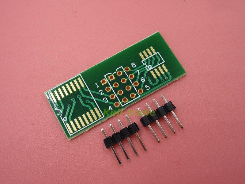 10pcs/lot SOP8 SOP16 Turn DIP8 Adapter Plate Suitable For 25 Series 16 Feet