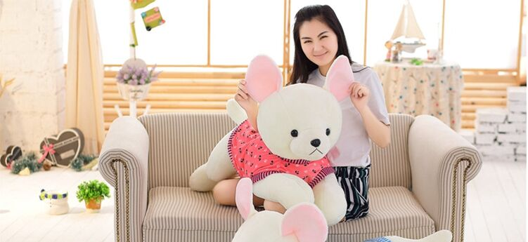 huge plush white dog toy stuffed pink cloth lying dog doll gift about 120cm the huge lovely hippo toy plush doll cartoon hippo doll gift toy about 160cm pink