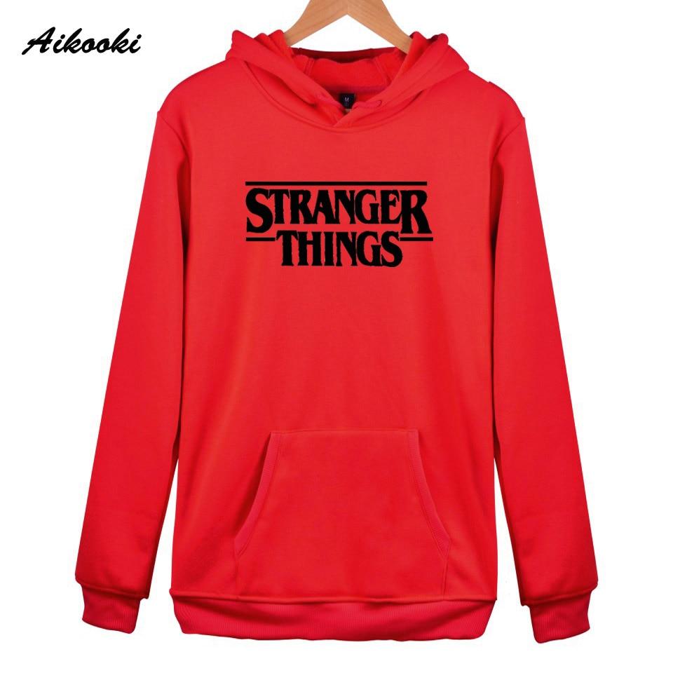 Hoodie Stranger Things Hoodies Sweatshirt women/men Casual Stranger Things Sweatshirts Women Hoodie Men's 18