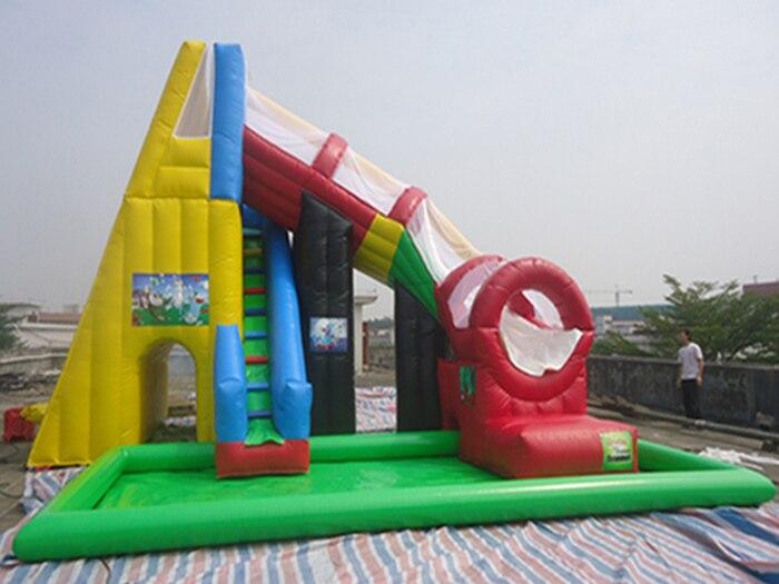 Inflatable Inground Pool Slide popular kid water slides-buy cheap kid water slides lots from