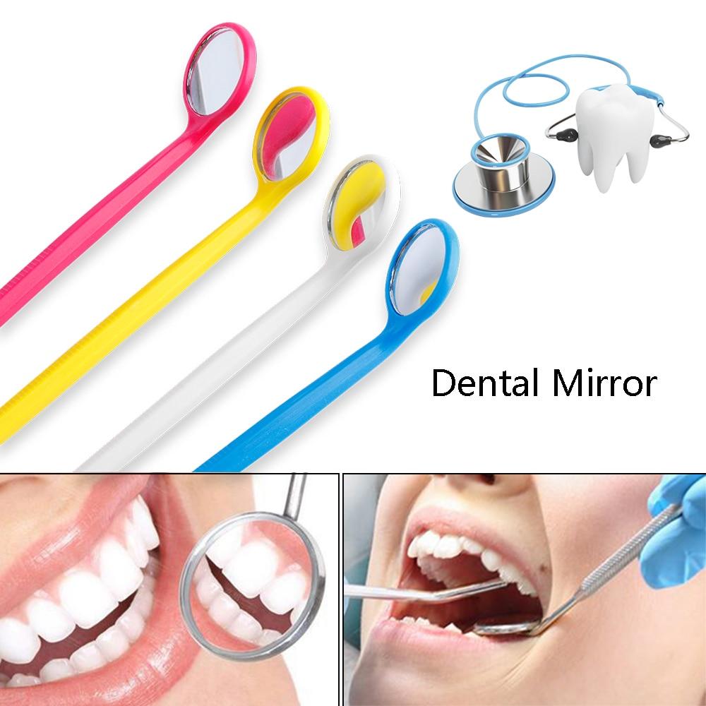 1Pcs Dental Mirror Instruments Mouth For Checking Eyelash Extension Applying Eyelash Tools & Teeth Tooth Clean Oral