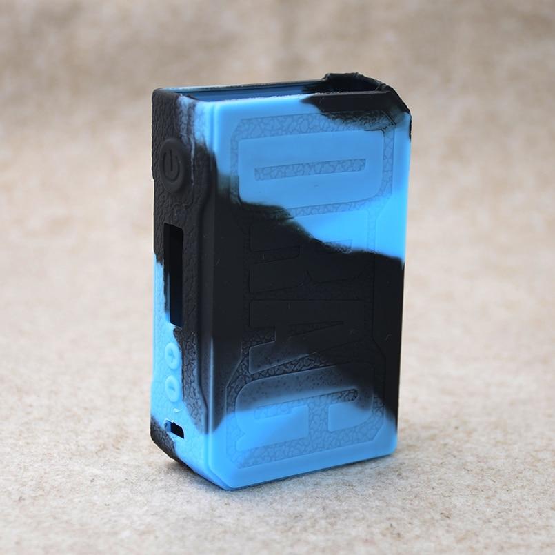 Voopoo Drag 157 watt Silikon fall/hülse/haut und Vape silikon abdeckung aufkleber hülse wrap für Voopoo Drag 157 watt box mod