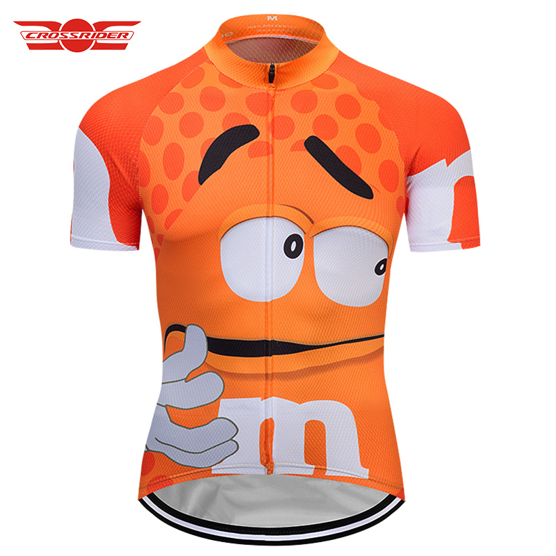 2bcb373b6 2019 Men s Funny Cycling Jersey Summer Cycling Clothing Mtb Bicycle Shirt  Short Maillot Ropa Ciclismo Bike