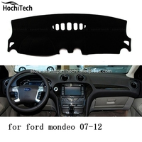 For Ford Mondeo 2007 2016 Dashboard Mat Protective Pad Shade Cushion Photophobism Pad Car Styling Accessories