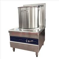 Energy-saving Inoxidável RY-KS-C-15 engrosse single-cabeça sopa fogão panela de sopa fogão ambiental fogão forno eletromagnético