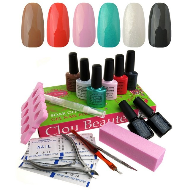 Clou Beaute Led Gel Nail Polish UV Top Coat Nail Products