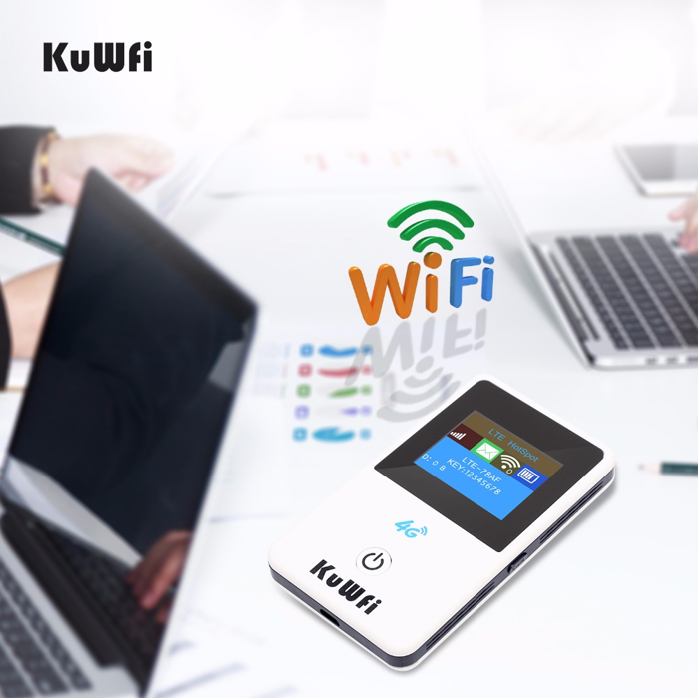 Image 4 - Unlocked 150Mbps 4G Wifi Router 3G 4G Lte Wireless Portable Mobile Hotspot Car Wi fi Router With LCD Display With Sim Card Slot-in 3G/4G Routers from Computer & Office