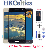 For Samsung Galaxy A3 2015 A300 A3000 A300F A300M LCD Display +Touch Screen Digitizer Assembly adjust brightness A3 2015 LCD