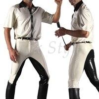 Латекс рубашка + брюки для мужчин