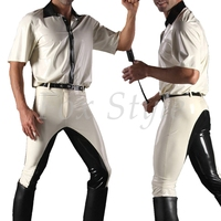 Latex shirt + trousers for men's