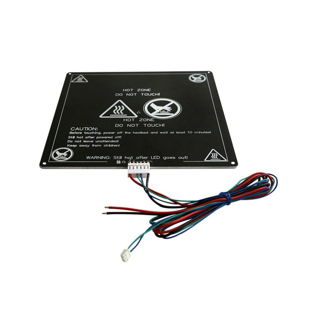Confident 3d Printer Mk3 Hot Bed 220*3mm Aluminum Heatbed Dual Power 12v 120w Round Pcb Heat Bed For 3d Printer Parts 3d Printer Parts & Accessories 3d Printers & 3d Scanners