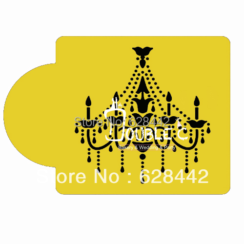 Pet flexible chandelier stencil party cakecookiecupcake stencils pet flexible chandelier stencil party cakecookiecupcake stencilsparty stencil free sipping aloadofball Image collections