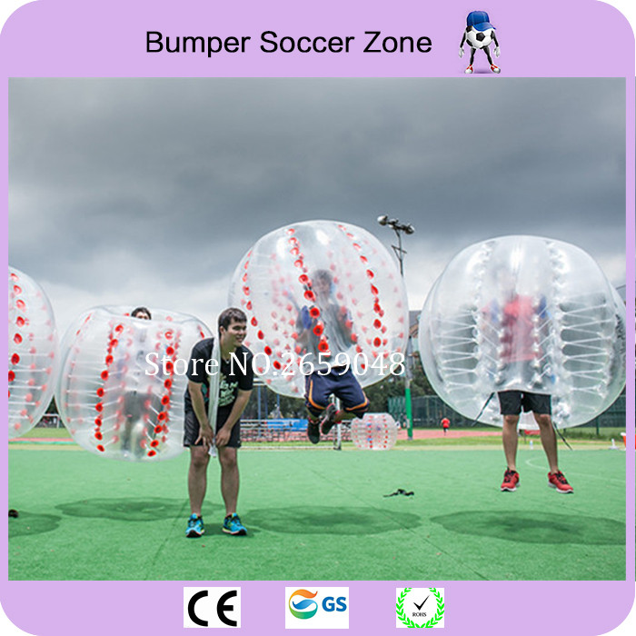 Envío gratis deporte al aire libre 1.5 m inflable burbuja fútbol Hamster Ball parachoques Body Suit Bubble Soccer Zorb Ball