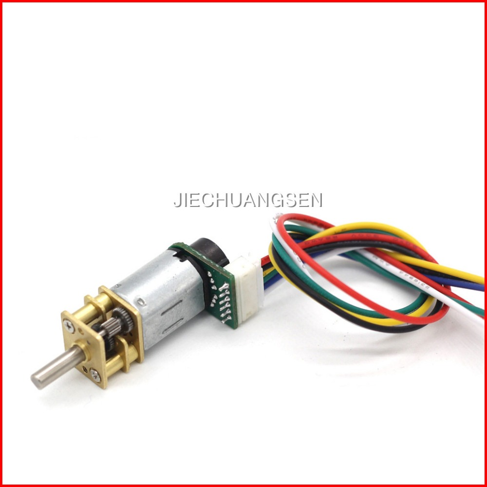 Buy well made ga12 n20 dc gear motor with for Dc gear motor with encoder