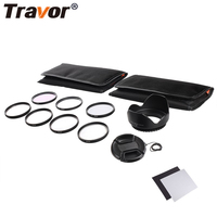 Travor 49MM 52MM 55MM 58MM 62MM 67MM 72MM 77MM UV CPL FLD Lens Filter And Close