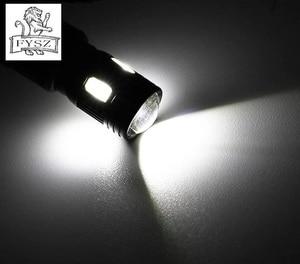 Image 5 - 10 шт. T10 LED W5W 12v 5630 6500k автомобильный светильник для чтения декодирующий объектив черный алюминиевый не очень высокотемпературный потолочный светильник