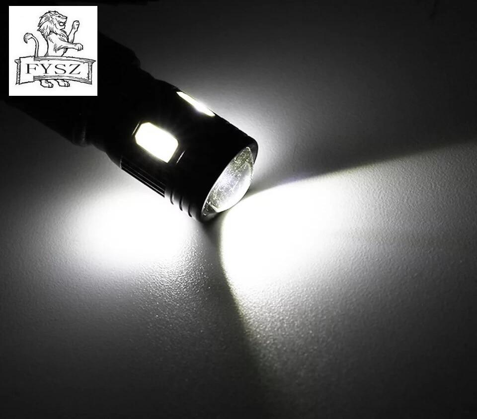 Image 5 - 10X T10 5630 W5W 6 smd Автомобильный светодиодный свет для чтения декодирование объектива Черный Алюминий не очень высокая термостойкость потолочный светильник-in Сигнальная лампа from Автомобили и мотоциклы on AliExpress - 11.11_Double 11_Singles' Day