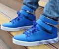 2016 новая коллекция весна лето мужчины высокое свободного покроя мужской обуви искусственная кожа мода стиль мужская обувь высокие сапоги мужские свободного покроя размер обуви 39 - 45