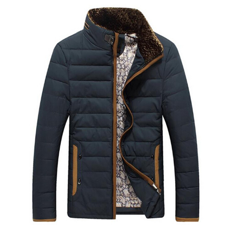 ФОТО 2016 4 Colors Winter Warm Men's Down Jackets Thicken Outerwear wadded coat Man Clothes Parka Overcoat M-3XL Men's Clothes