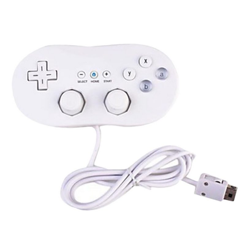 1pcs Wired Classic Controller Host Gaming Joystick Gamepad For Nintendo Wii Classic Console