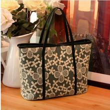 Women Bag Spring and Summer Essential Bud silk Shoulder Bag Women Handle classic Large Bag Explosion