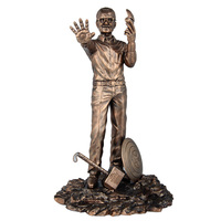 28CM 1/6 Scale Father of Hero Anime Figure Stan Lee Dolls Stan Lee The Avengers Action Figure Resin Statue Bust Model Toy Ver