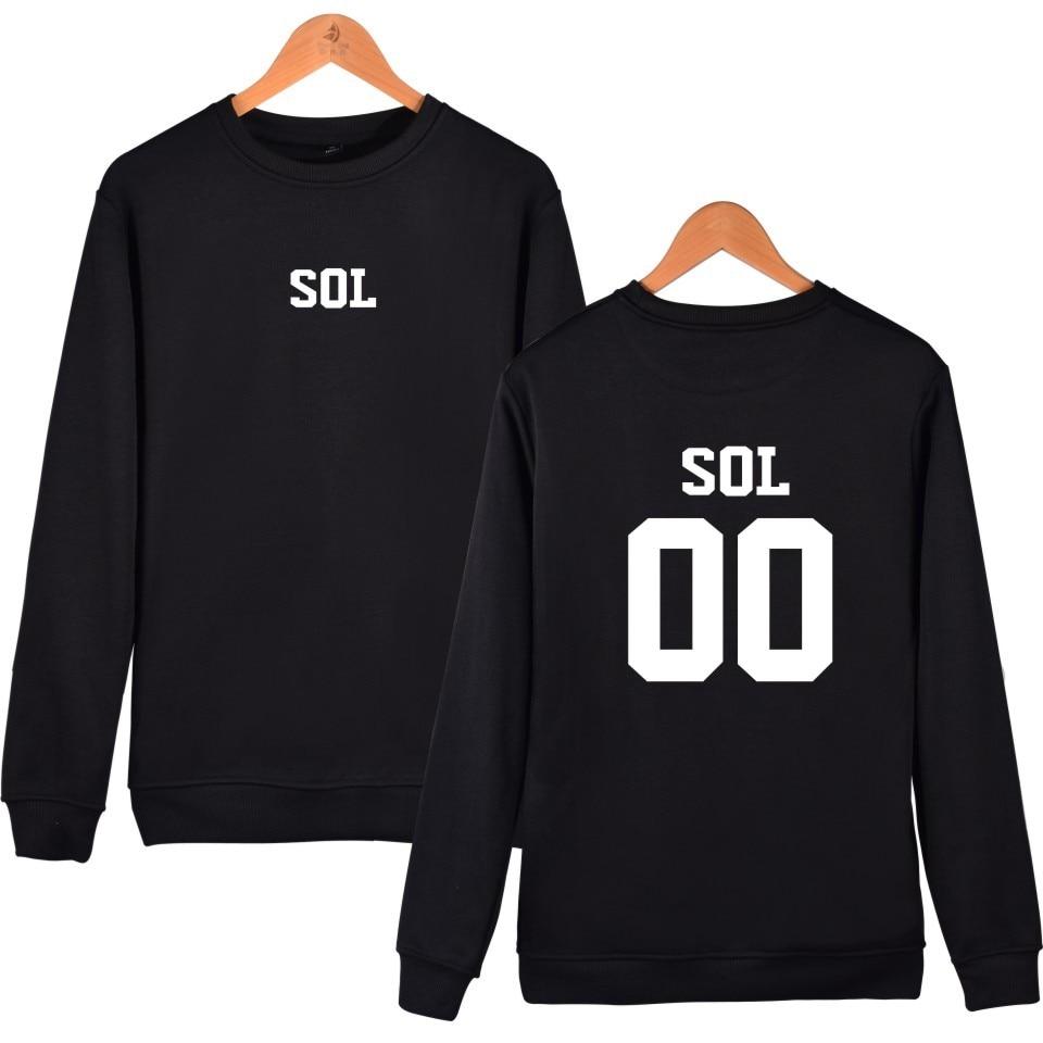 Hot Sale Bigbang Sweathshirt Winter Women Hoodies Sweatshirts Cotton Clothers O neck XXS 4XL Funny Plus Size