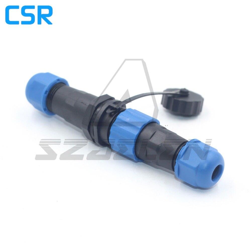 SD1310/P-SD1312/S, 1pin 2pin 3pin 4pin 5pin 6pin 7pin conector y enchufe impermeable, Conector de cable de acoplamiento IP68.