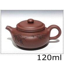 Lila Tontopf Handgemachte Tee-Set Yixing Teekanne 120 ml Kung Fu Set Teekannen Chinesischen Zisha Sets Porzellan Wasserkocher Schnelle Post
